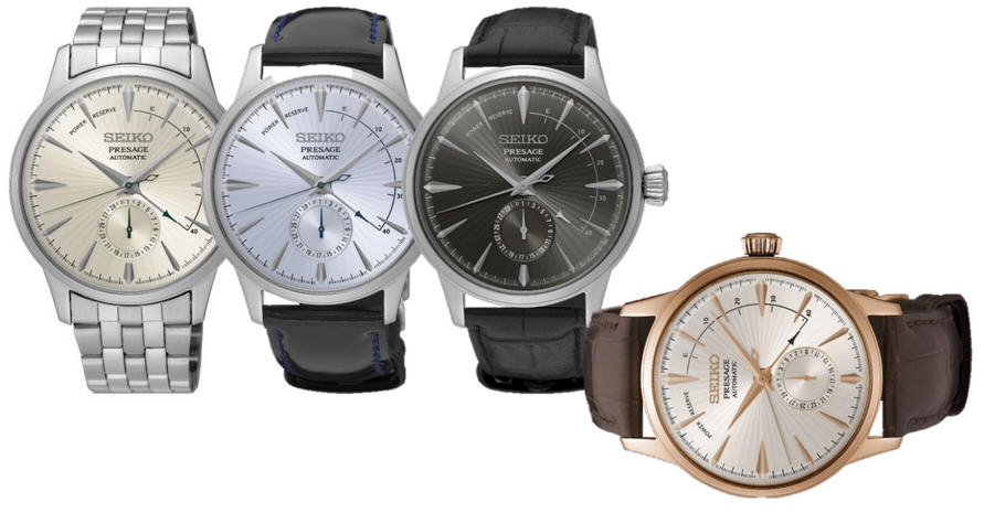 Seiko Presage new Cocktail Time