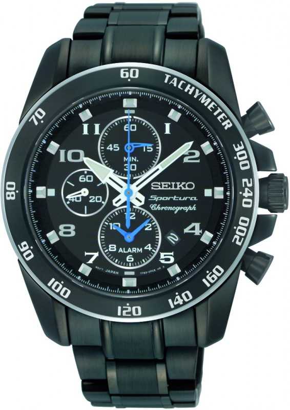 seiko chronograph herrenuhr snae77p1. Black Bedroom Furniture Sets. Home Design Ideas